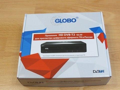 Globo Gl 50 общий обзор эфирного приемника