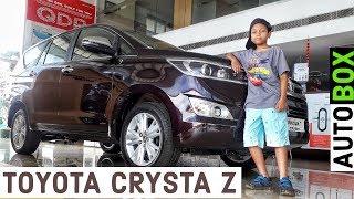 Toyota Innova Crysta 2.8 ZX 2019 Automatic | 7 seater Walkaround Video