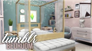 tumblr Bedroom | Sims 4 Room Build
