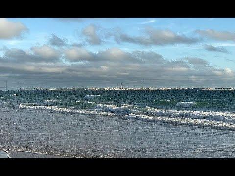 Испания - пляж EL Ancla - Атлантический океан