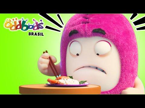 Oddbods | FIASCO DA COMIDA 5 | Desenho Animado Divertido Para Crianças