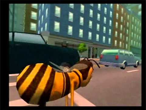 Bee Movie Game walkthrough part 13: CHASE THAT TRUCK!!!