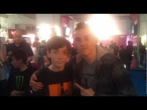 Eurogamer Expo 2012 - I MET SYNDICATE AND JULIA HARDY :D