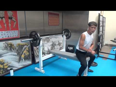 Bench Press Training : Sigung : July 27 2014 Image 1