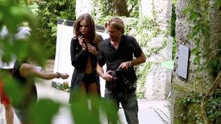 Making of Central Park Fashion Editorial