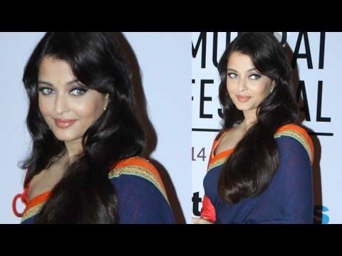Aishwarya Rai Bachchan Flags Off 16th Mumbai Film Festival