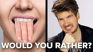 Joey Graceffa Plays The Hardest Would You Rather