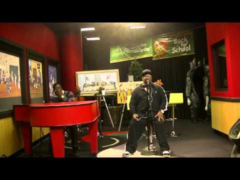 Dave Hollister performs Spend The Night & One Woman Man on the Tom Joyner Morning Show