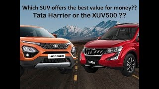 Tata harrier or XUV500 Which SUV offers the best value for money??