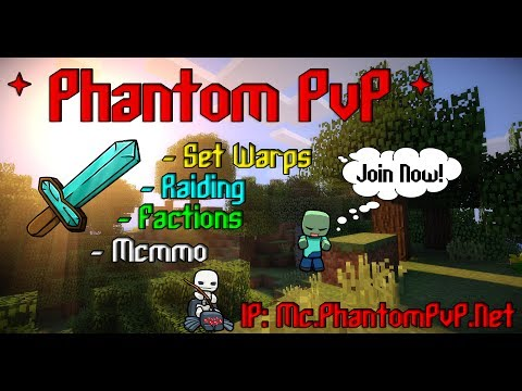Phantom PvP | Minecraft Pvp Server 1.7.2/1.7.4 | Mini Trailer