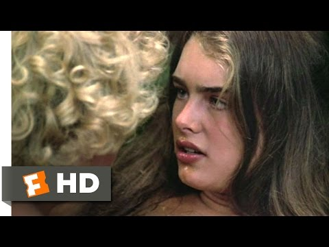 The Blue Lagoon (4 8) Movie Clip - Sticky Kiss (1980) Hd video