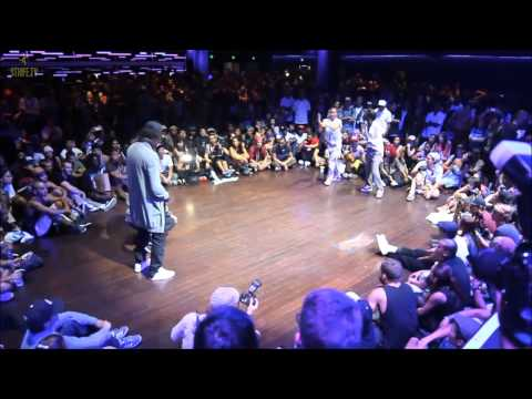 Батл Les Twins vs Zamounda, хип хоп танцы