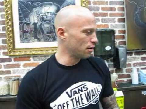 Ami James does a koi fish tattoo at Love Hate aka Miami Ink. more about