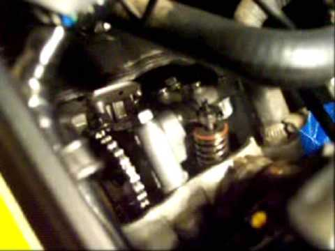 Honda Cbr 125r Valve Clearance Valve Check Youtube