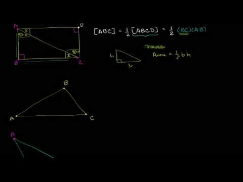 Видеоурок Площадь треугольника - видео