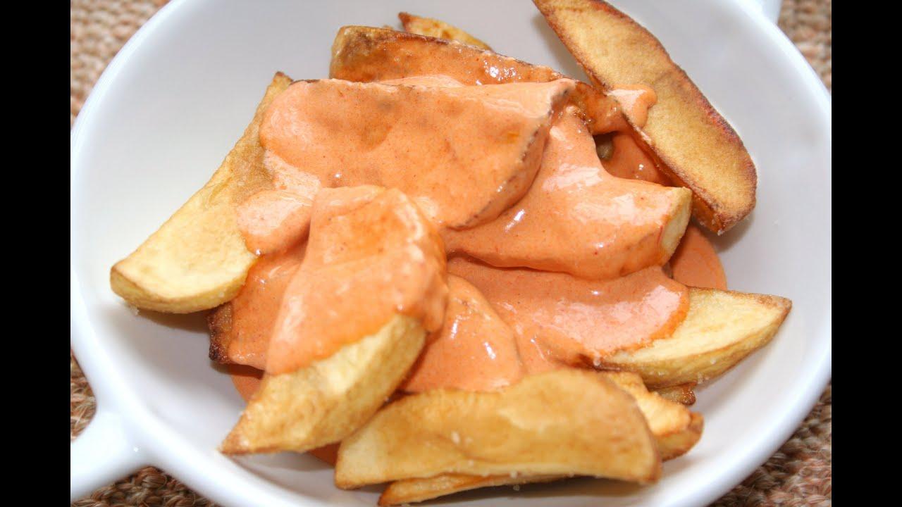 Patatas bravas - YouTube