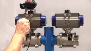 Double Acting & Spring Return Pneumatic Actuators
