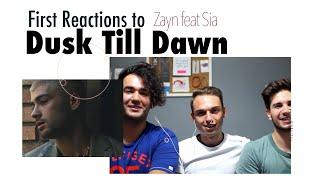 download lagu First Reactions To Zayn - Dusk Till Dawn Ft. gratis