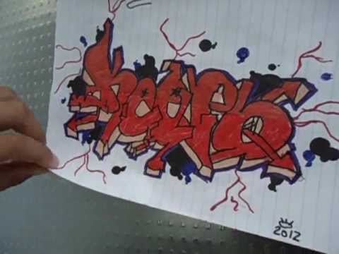 Graffiti de ni o de 10 a o youtube for Graffitis para ninos