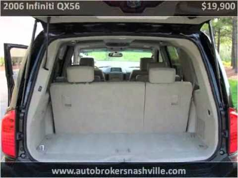 2006 Infiniti QX56 Used Cars Nashville TN