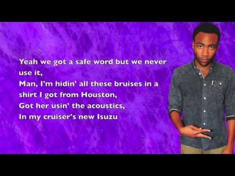 Childish Gambino - Eat Your Vegetables - Lyrics