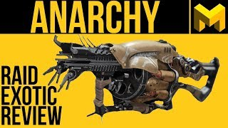 Destiny 2 Anarchy Exotic Review: Arc Chaining Raid Grenade Launcher