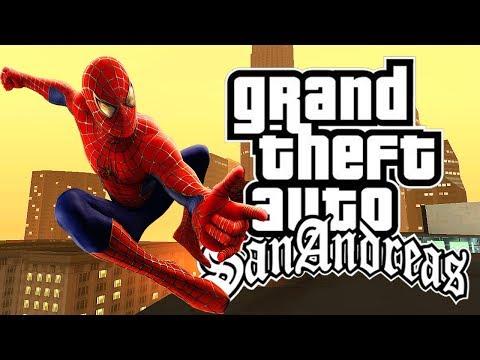 Como Instalar O Mod Homem Aranha No GTA San Andreas