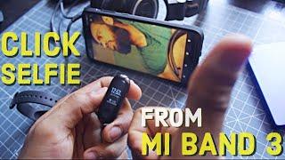 Xiaomi Mi Band 3 How To Take Selfie | Nashit Hasan #miband3