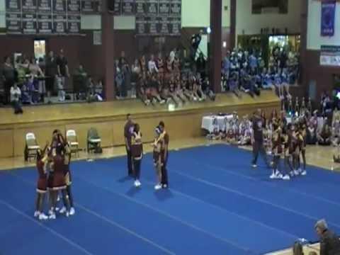 Sierra High School Cheerleaders 11/19/2011