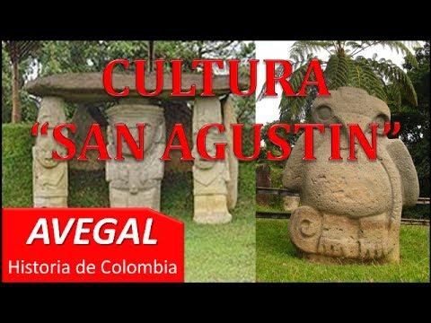 CULTURA SAN AGUSTIN - COLOMBIA - AVEGAL Historia
