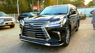 2017 Lexus LX 570: Startup/ Exhaust/ Interior/ Exterior/ In-depth Review