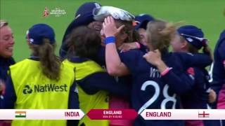 2017 ICC Women's World Cup Winning Moment