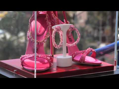 The world's most precious shoes introduced at Cannes 2011 – presented by Chopard & Giuseppe Zanotti