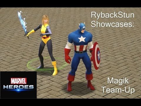 Marvel Heroes: Magik Team-Up Preview