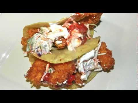 Shrimp Tacos Recipe - With Home Made Cole Slaw