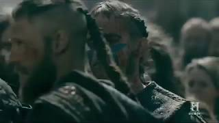 Hail king Bjorn! || Vikings Season 5b || ending scene|| cold clips||