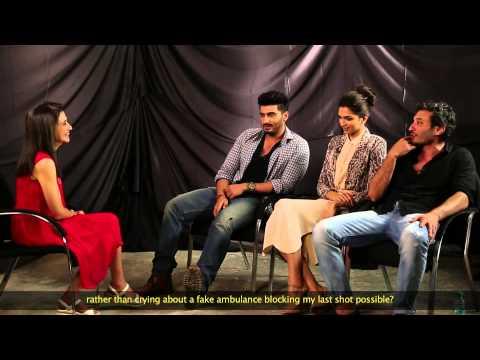 In Conversation With Arjun Kapoor, Deepika Padukone & Homi Adajania | Anupama Chopra| Film Companion