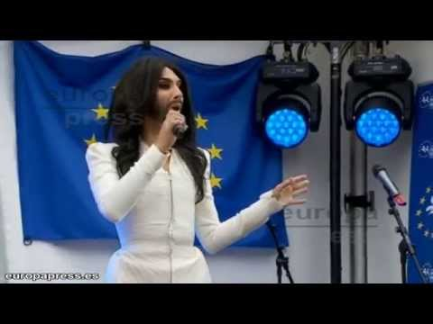 Conchita Wurst songs in European Parlament