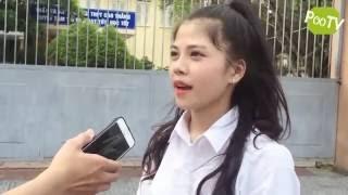 Phỏng vấn thi đại học gái xinh Huế, cười đau ruột =]]