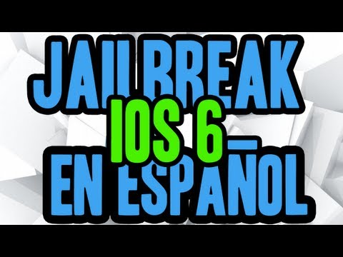 Jailbreak 6.0 Para iPod Touch 4g iPhone 4 & iPhone 3gs En Español