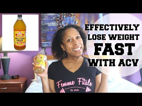Effectively Lose Weight Fast With ACV