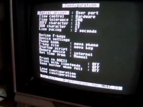 Hooking up a Commodore 64 with BBS Server And is C-Base 3.0 RS232 2400 baud setup