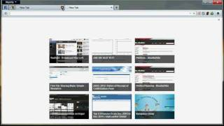 Firefox 13 - New Tab Page (OLD)
