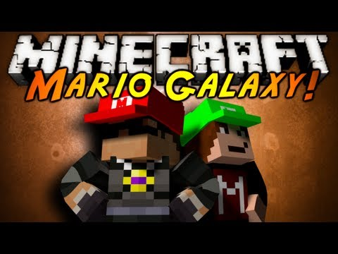 Minecraft: Super Mario Failaxy Part 1!