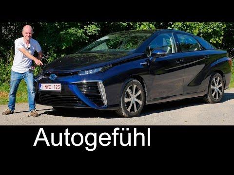 All-new Toyota Mirai FULL REVIEW test driven Fuel Cell car 2017 neu - Autogefühl