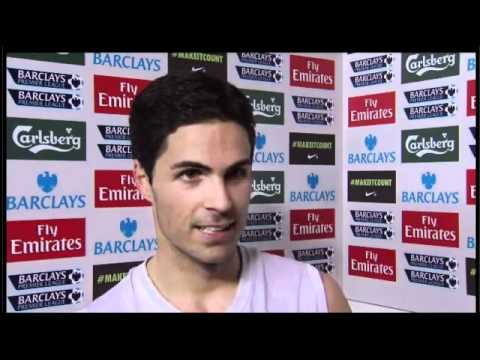 Mikel Arteta Reaction To 2 1 Victory over Newcastle