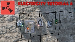Rust Electricity Tutorial #6 - Memory Cells - OR Switch - XOR Switch