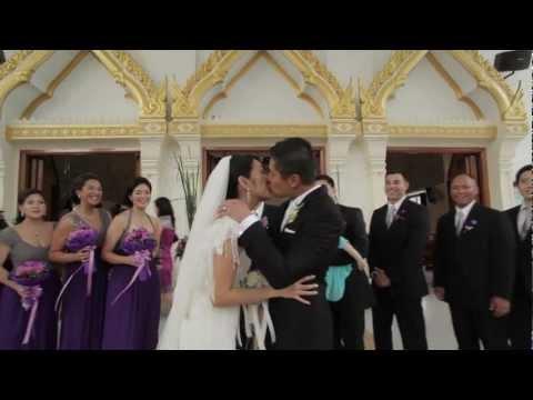 Tina and Eric's Wedding in Bangkok, Thailand (HD)