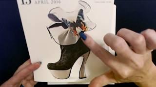 ASMR | Page-A-Day Shoe Calendar Show & Tell 6-3-2020 (Soft Spoken)