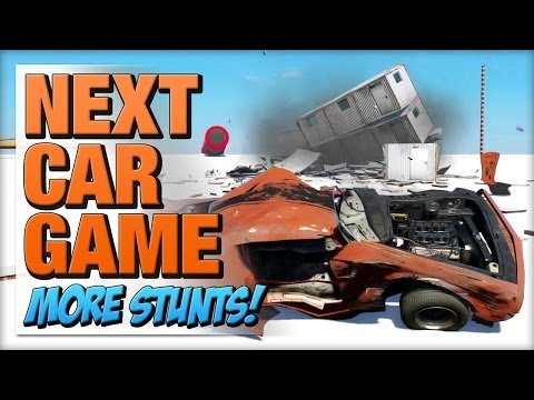 Next Car Game - Trying More Tech Demo Stunts!